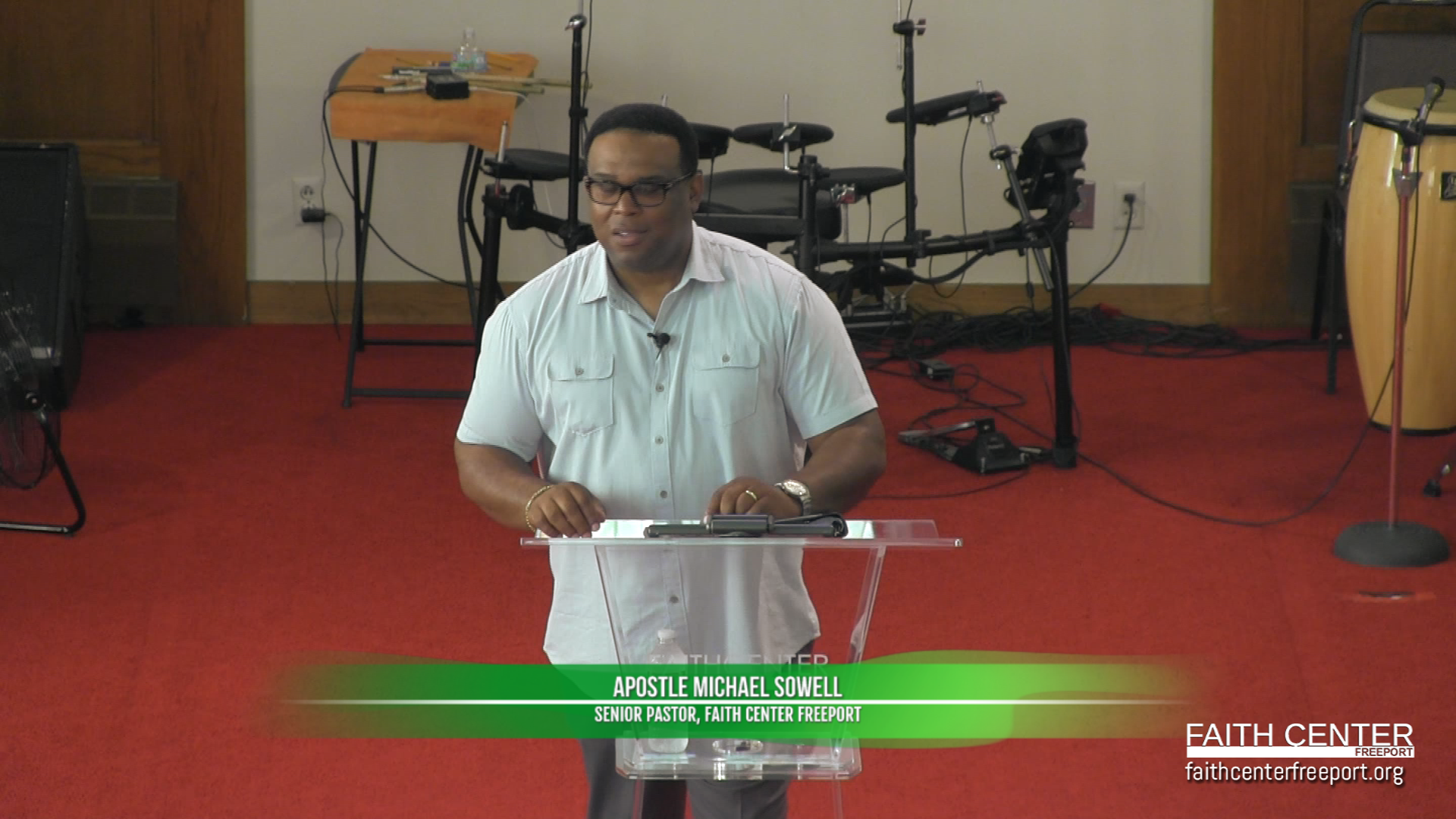 My Redeemer Lives – Apostle Michael Sowell