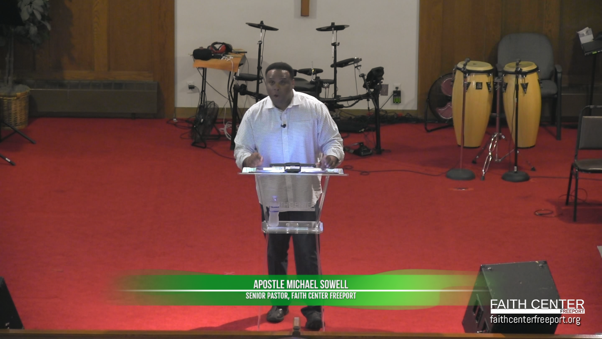 Vision – Apostle Michael Sowell