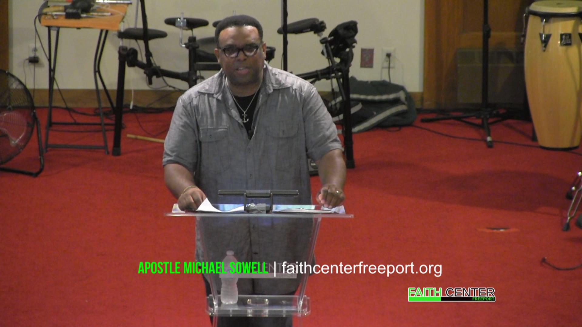 Refiner's Fire – Apostle Michael Sowell