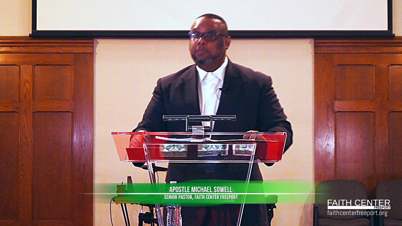 Apostle Michael Sowell – You Were Built To Overcome