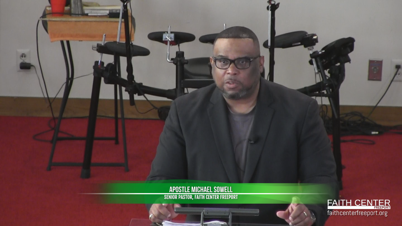 Apostle Michael Sowell – God's Stimulus Package
